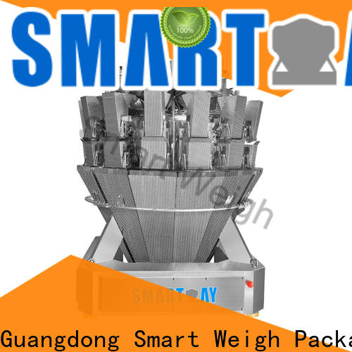 Smart Weigh Pack multihead weigher order now for food labeling