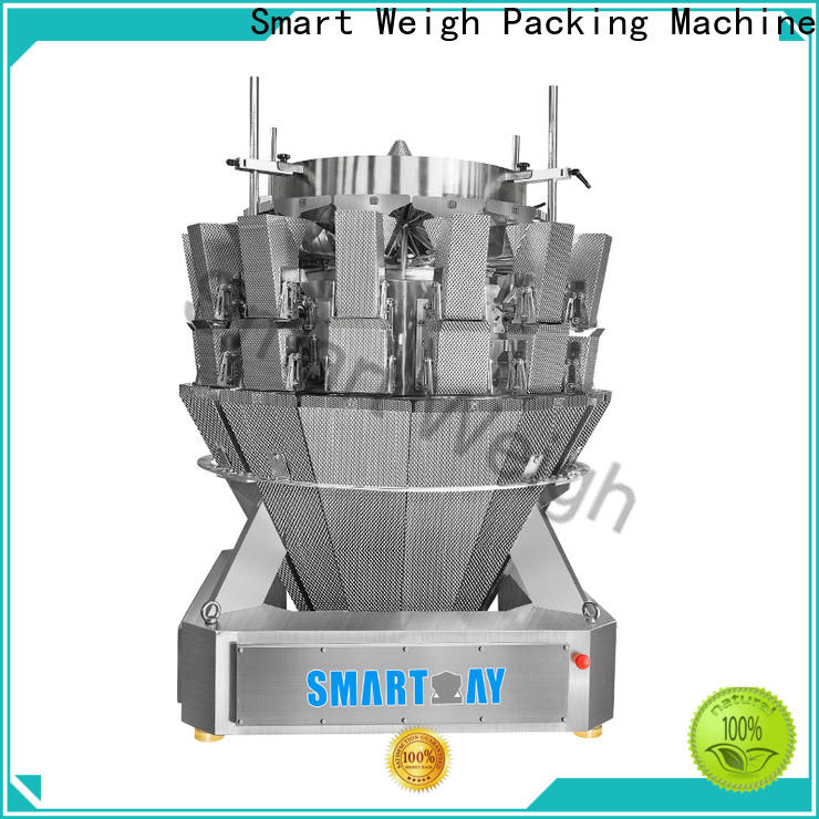 Smart Weigh Pack eco-friendly multihead weigher for food packing