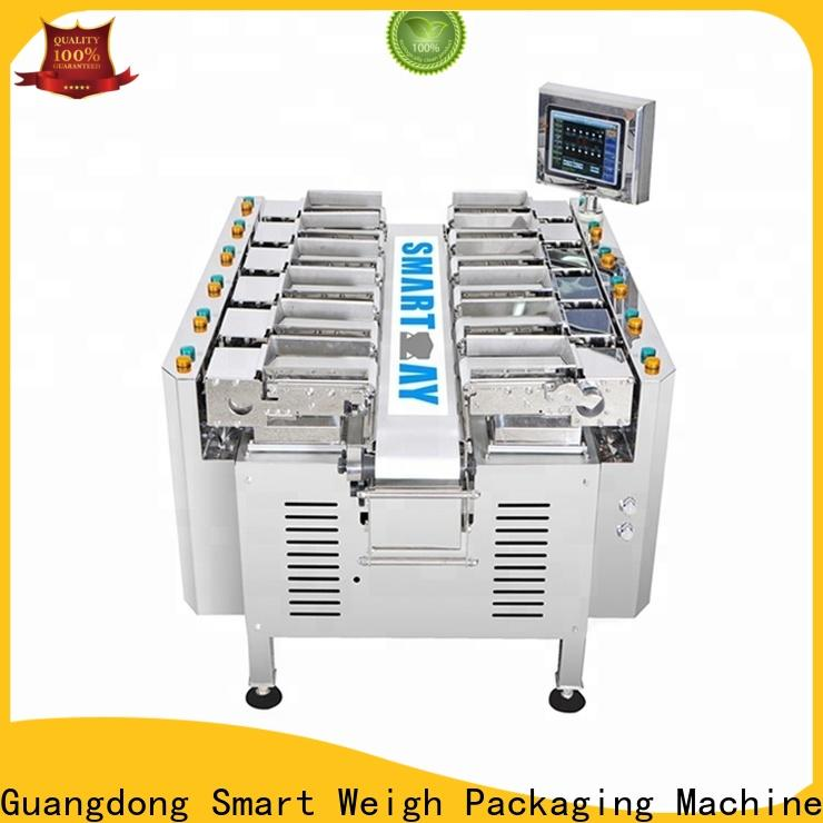 durable multihead weigher for foof handling