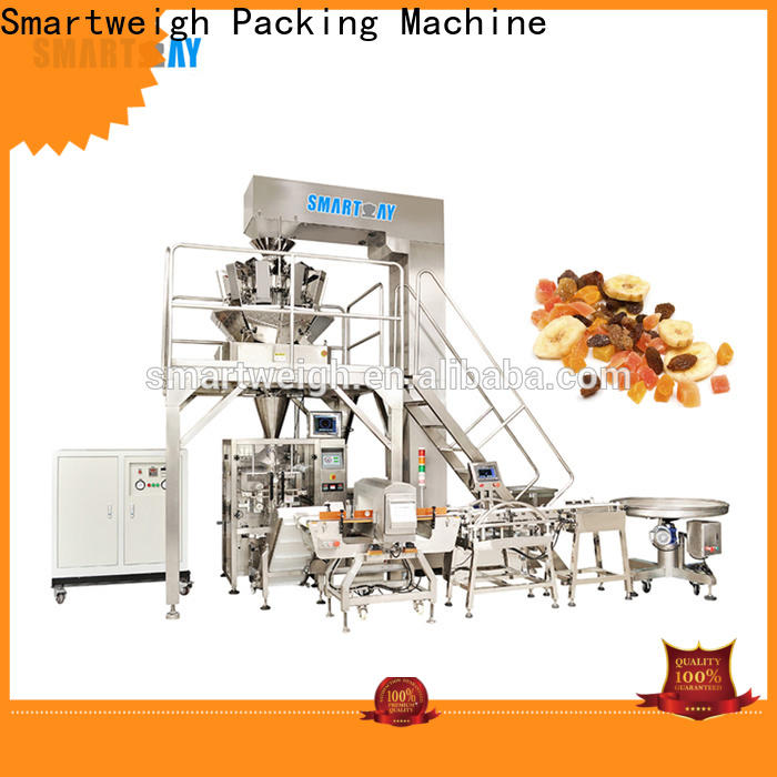 Smartweigh Pack vertical pouch packing machine manufacturers for salad packing