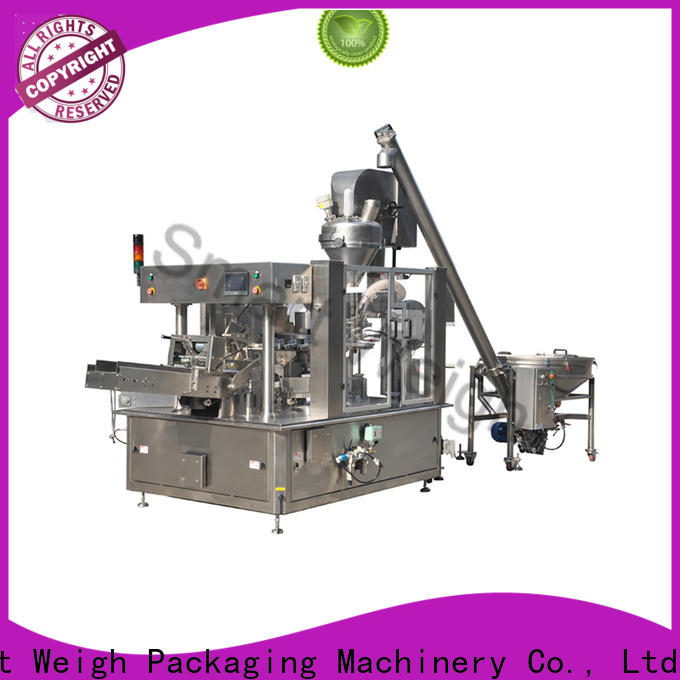 new plastic pouch packaging machine supply for salad packing