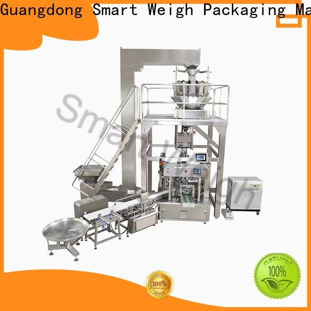 Smart weigh chocolate packaging machine for chips packing