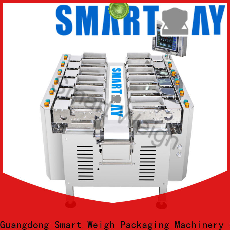 precise pouch packing machine for foof handling
