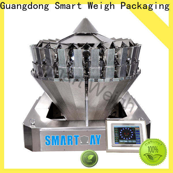 steady small multi head weigher for food packing