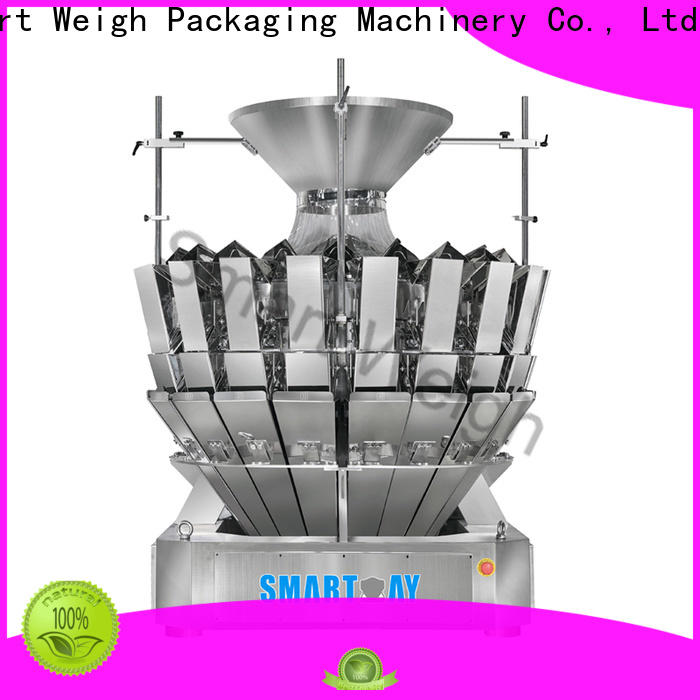 multi head combination weigher for food packing
