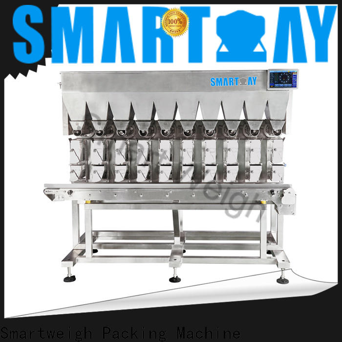 durable linear multi head weighers from China for food labeling