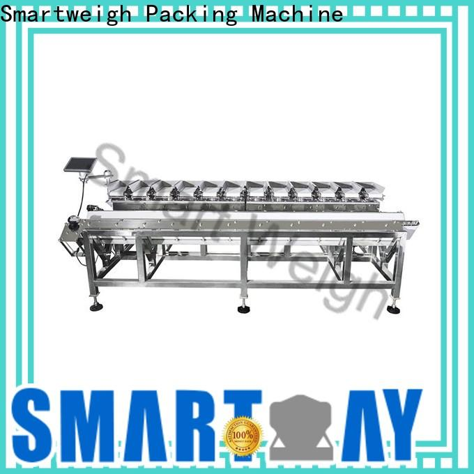 Smartweigh Pack auto weighing machine factory price for foof handling