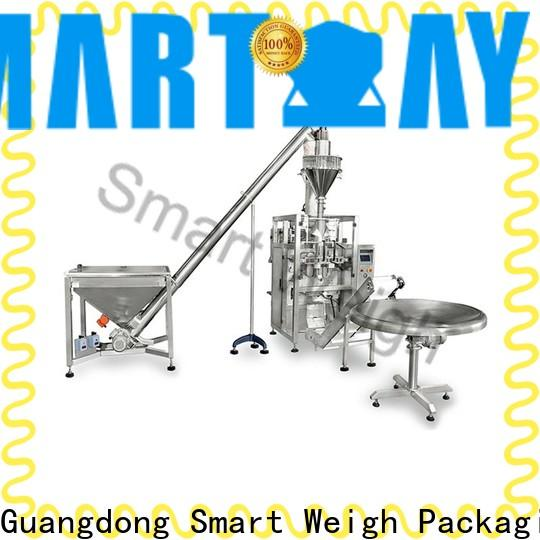 Smart weigh vertical form fill seal packaging machines manufacturers for meat packing