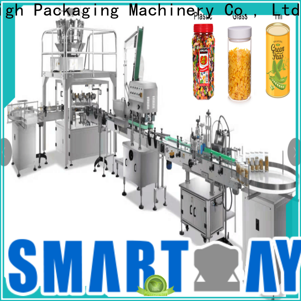 top bottle filling machine factory for meat packing