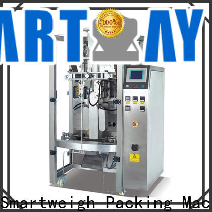 Smart weigh vertical bagging machine company for salad packing