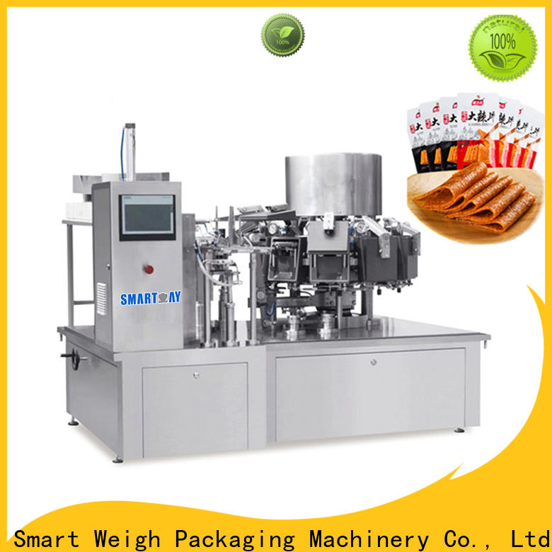 Smartweigh Pack top chocolate bar packaging machine for frozen food packing