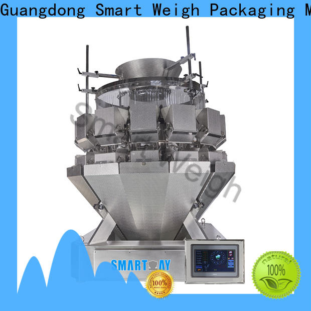 Smartweigh Pack 14 head multihead weigher from China for foof handling