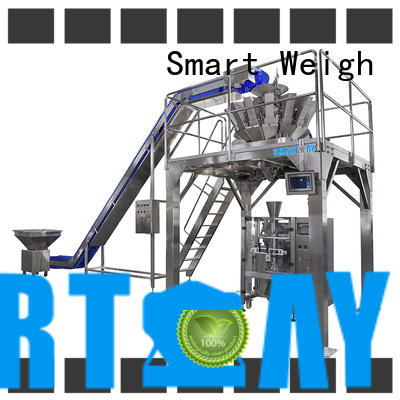 Smart Weigh linear automatic bagging system with good price for food labeling