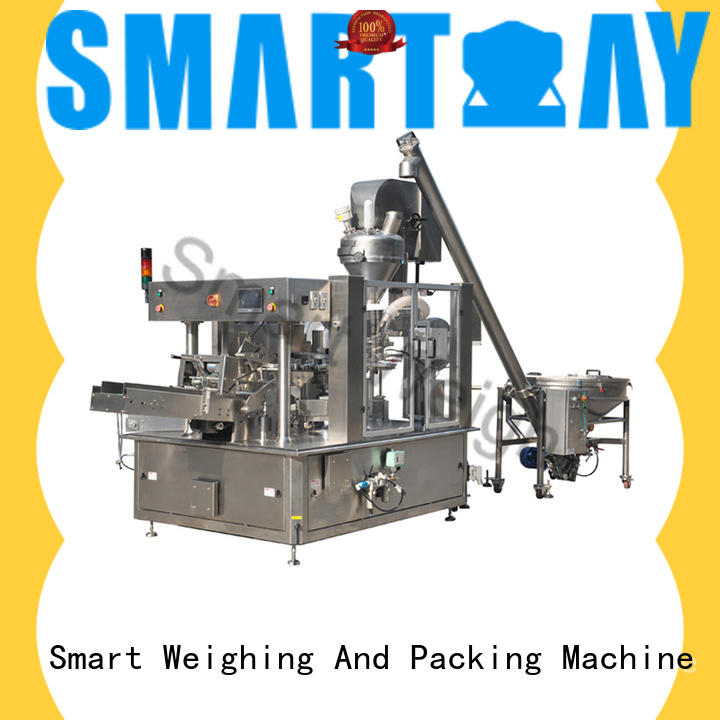 Smart Weigh powder packaging sealing machine manufacturers factory for chips packing