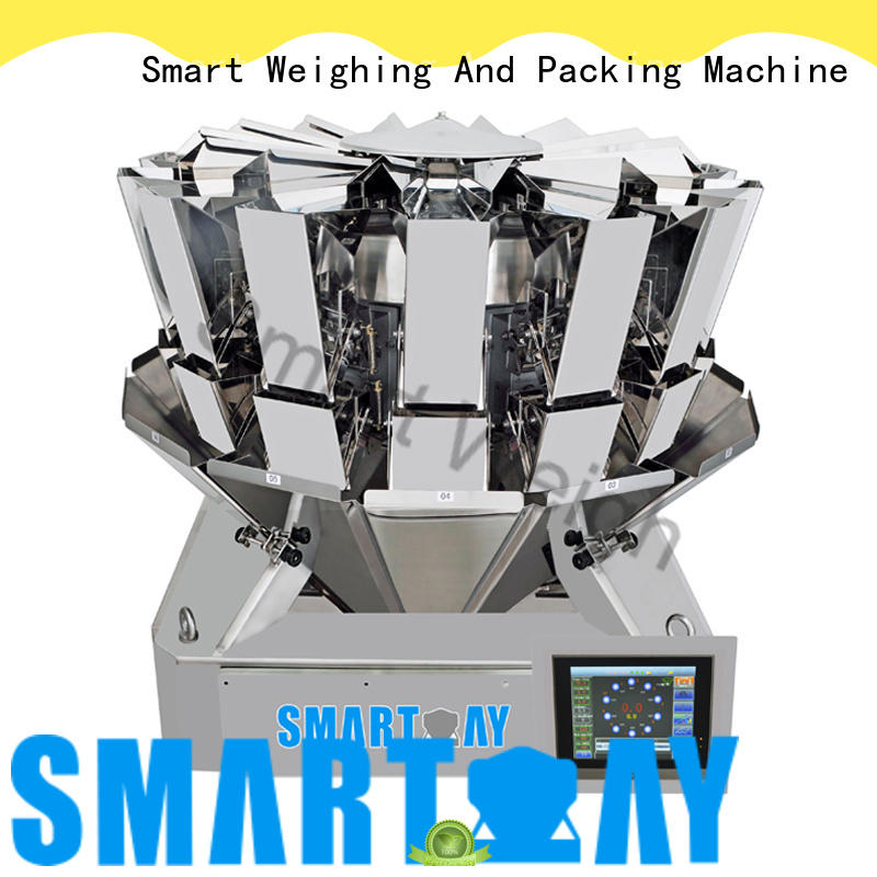 easy-operating multihead weigher factory price for food labeling