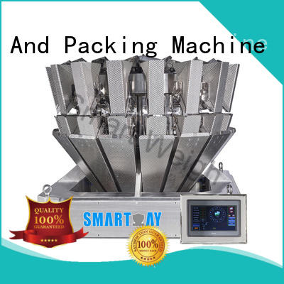 Smart Weigh four chinese multihead weigher widely use for food weighing