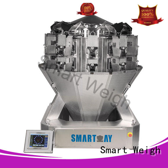 Smart Weigh weigher chinese multihead weigher from China for foof handling
