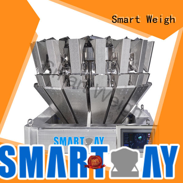 Smart Weigh screw multihead weigher factory price for food labeling