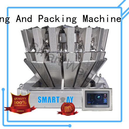 adjustable multi head combination weigher mixture from China for foof handling