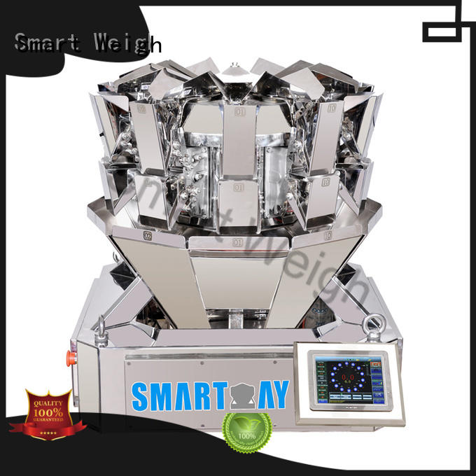 Smart Weigh four multihead weigher china directly sale for food weighing