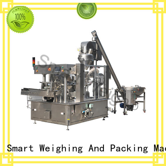 Smart Weigh premade luggage packing system with good price for food labeling