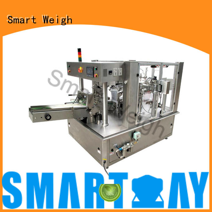 Smart Weigh safety multihead weigher packing machine China manufacturer for food weighing