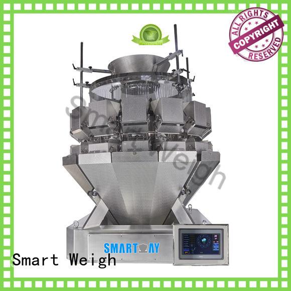 screw salad discharge accurate Smart Weigh Brand multihead weigher supplier