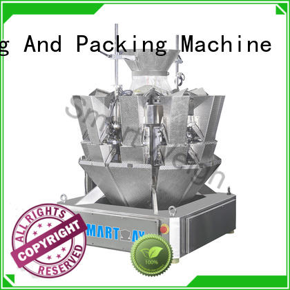 Smart Weigh easy-operating multihead weigher packing machine with good price for food weighing