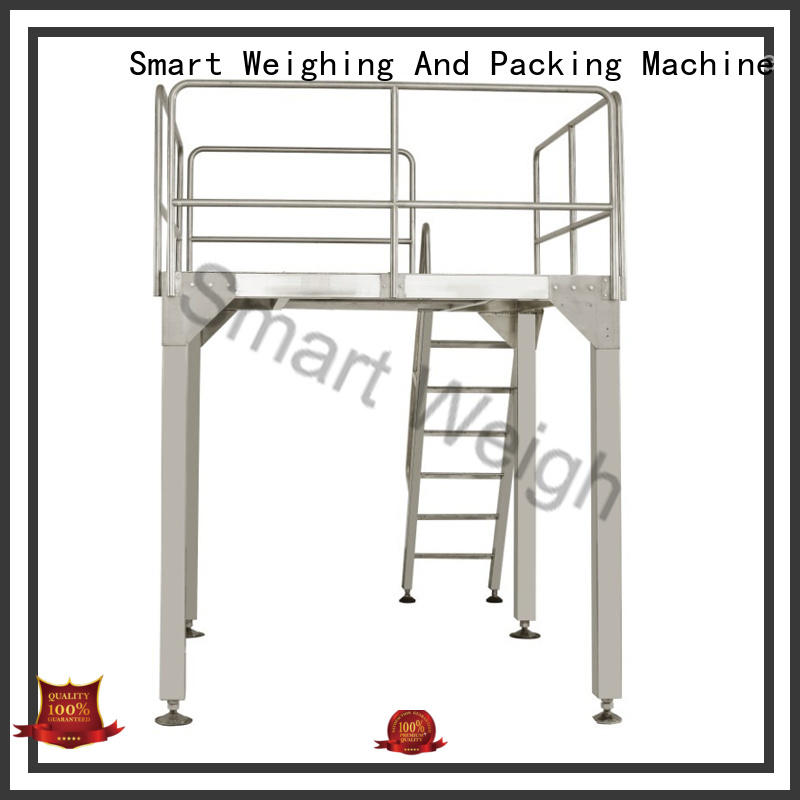 Wholesale conveyor aluminum work platform Smart Weigh Brand