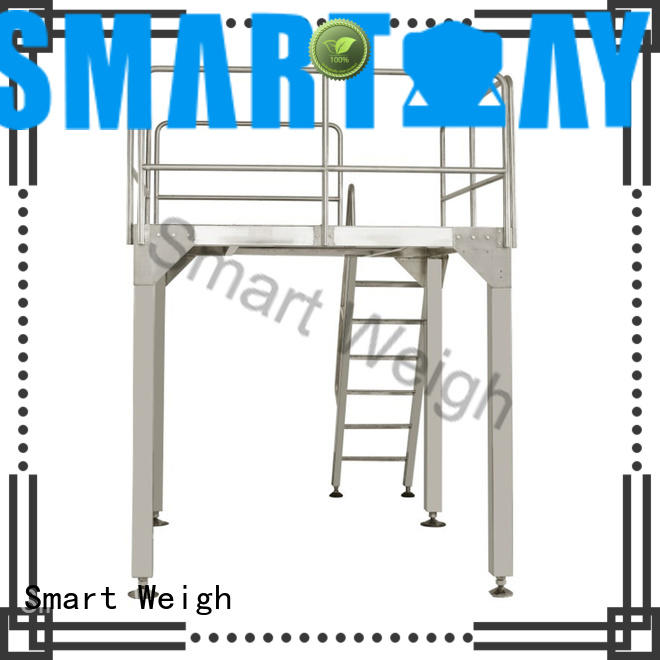 Smart Weigh durable work platform ladders in bulk for food weighing
