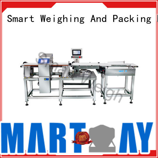 Smart Weigh smart check weigher machine factory price for food labeling