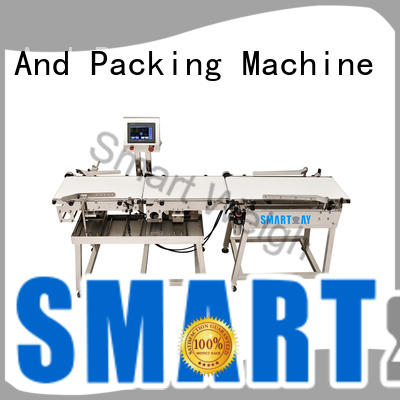 adjustable check weigher with good price for foof handling