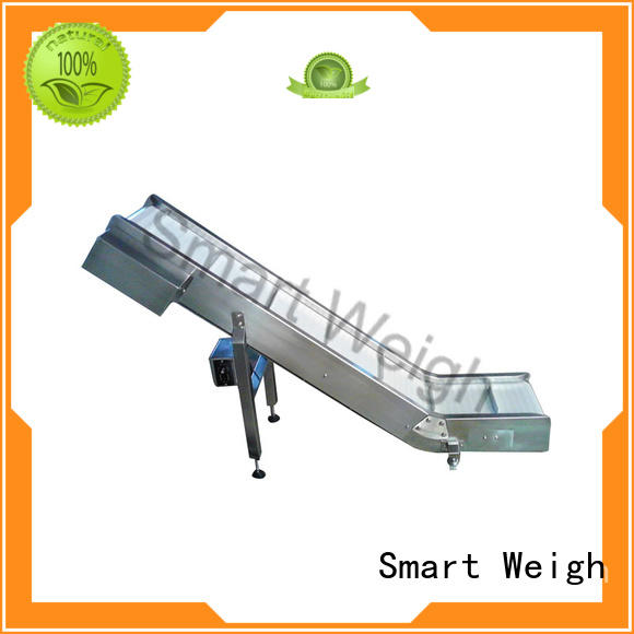 Smart Weigh advanced bucket conveyor with cheap price for food labeling