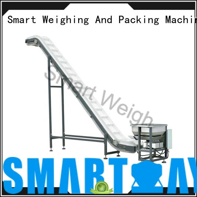 Smart Weigh safety work platform ladders with cheap price for food labeling