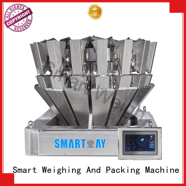 Smart Weigh easy-operating best multihead weigher directly sale for foof handling