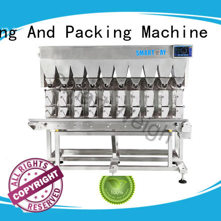 Smart Weigh high-quality linear head weigher factory price for food labeling