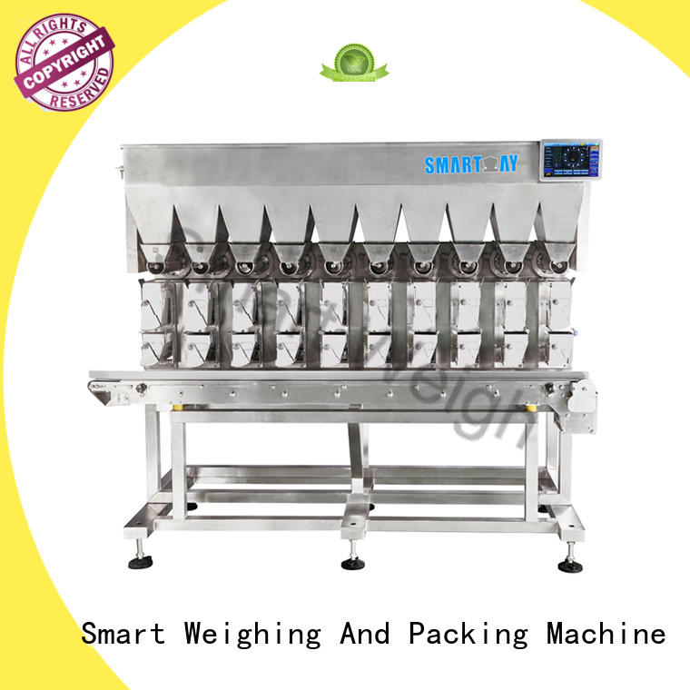 Smart Weigh eco-friendly multihead weigher packing machine directly sale for food weighing
