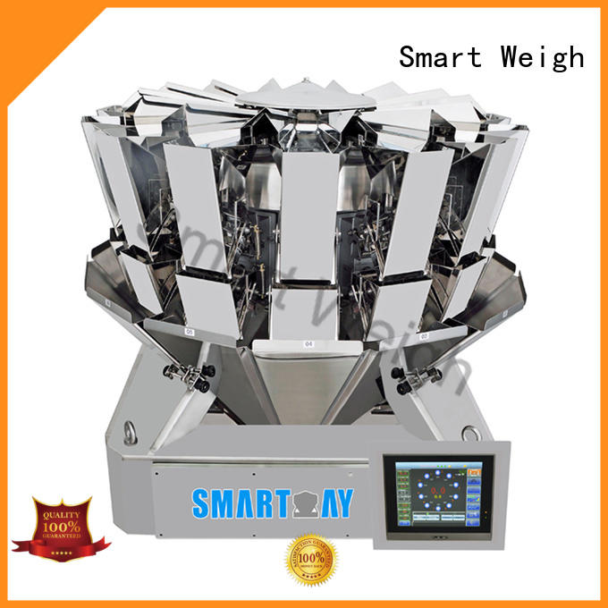 Smart Weigh Brand screw speed salad custom multihead weigher packing machine