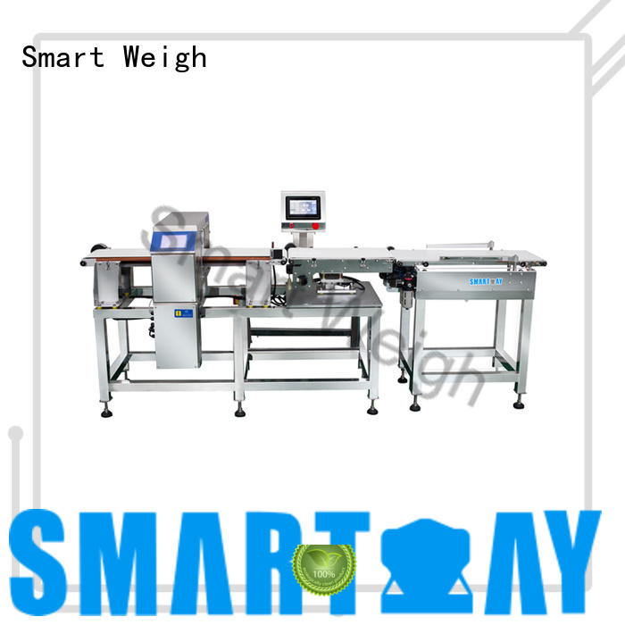 Smart Weigh metal professional metal detector with good price for food weighing