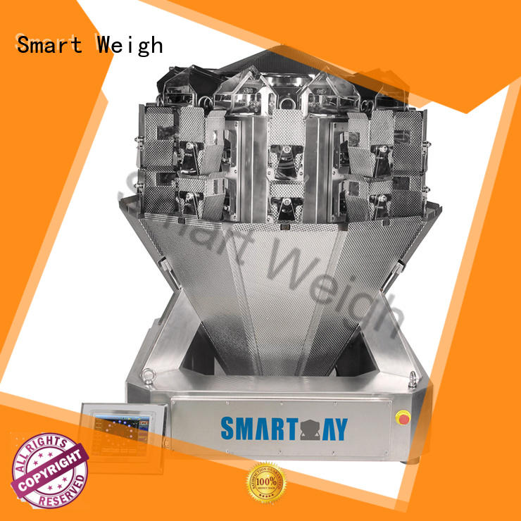 Smart Weigh Brand accurate smart multihead weigher screw factory