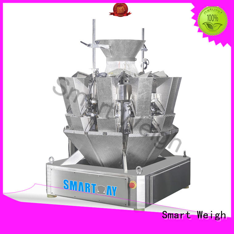 mini discharge multihead weigher packing machine Smart Weigh manufacture