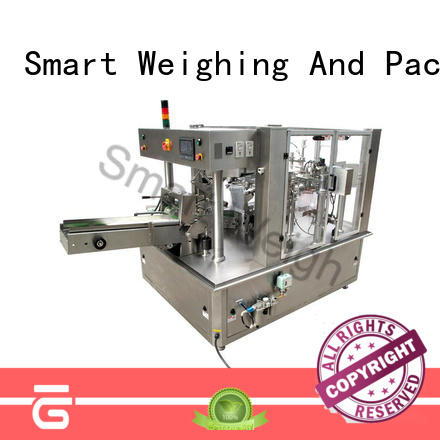 Smart Weigh safety rotary packing machine quadsealed for food packing
