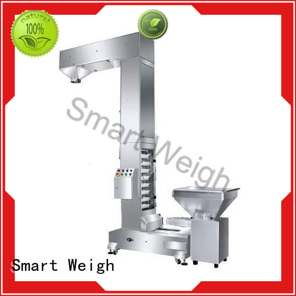 Smart Weigh safety output conveyor with cheap price for food weighing