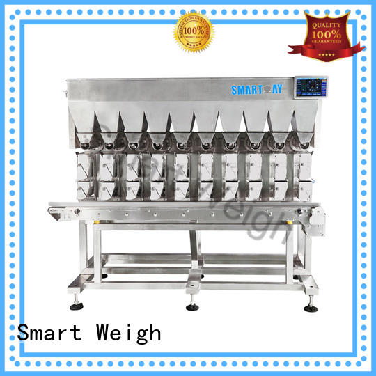 Smart Weigh adjustable combination weigher inquire now for foof handling