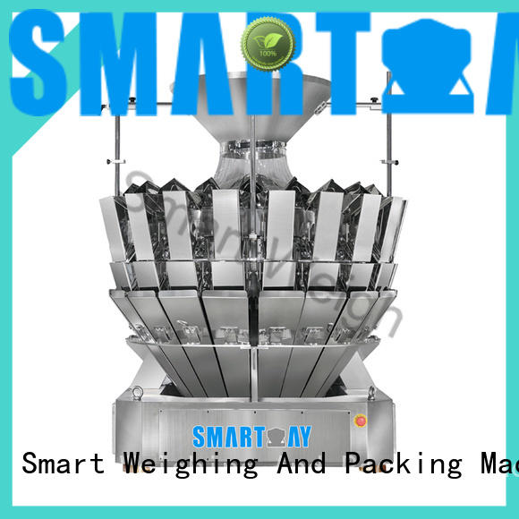 Smart Weigh easy-operating multihead checkweigher factory price for foof handling