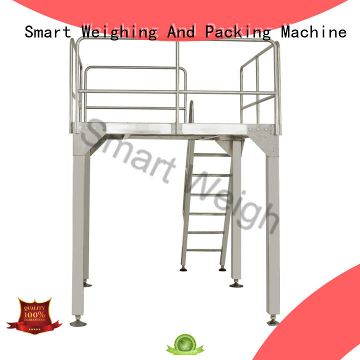 Smart Weigh best aluminum work platform factory price for foof handling