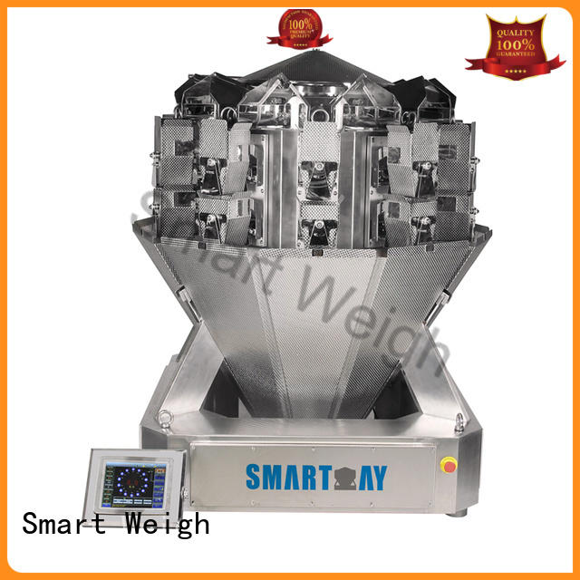 Smart Weigh screw bulk multi head weigher for-sale for food packing