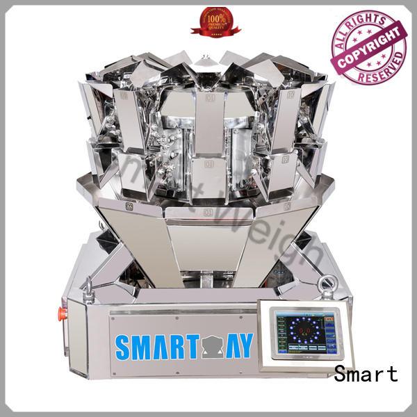 Smart Brand screw mixture multihead weigher packing machine salad