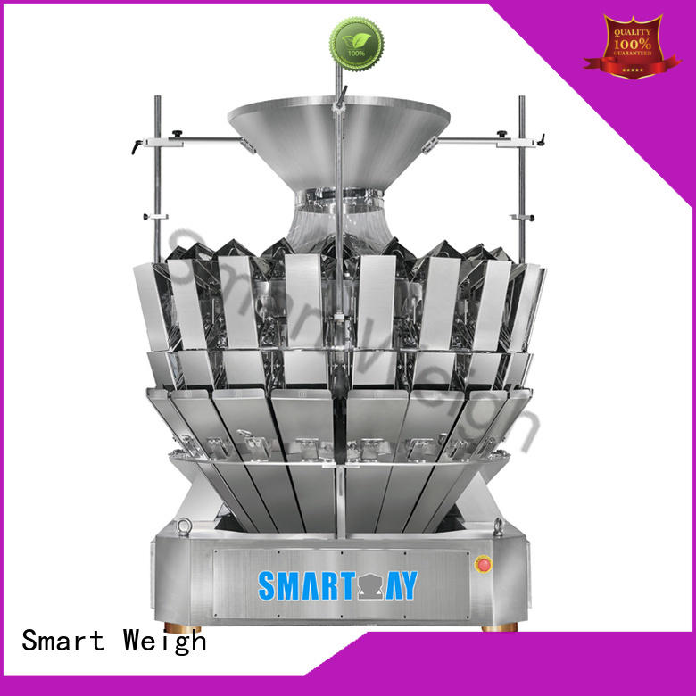 Smart Weigh weigher multihead weighing machine inquire now for food labeling