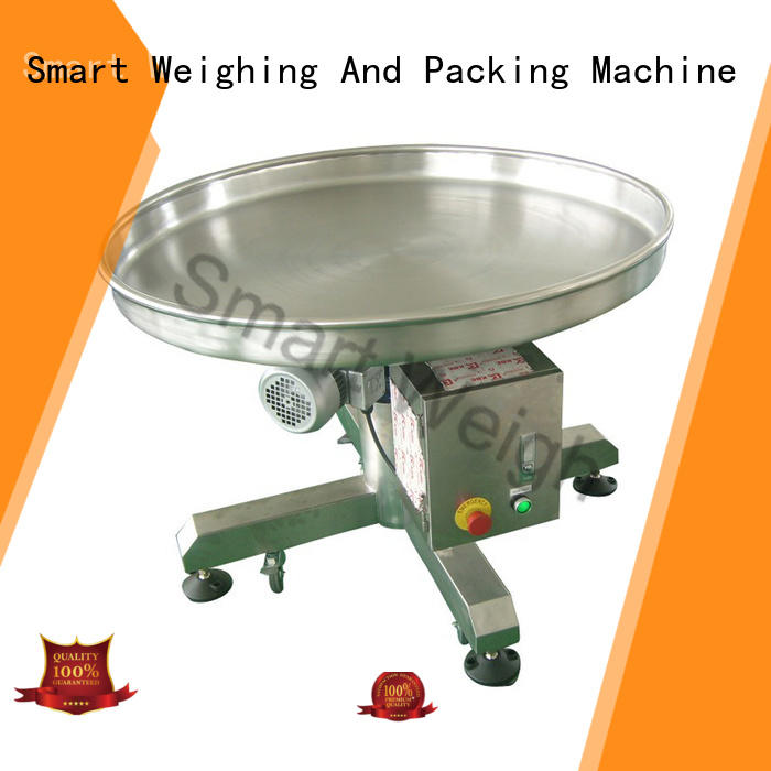 Smart Weigh table working platform customization for food packing